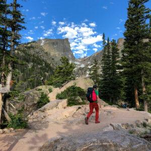 Hallett Peak Alpine Climb