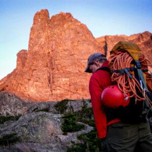 notchtop alpine climb